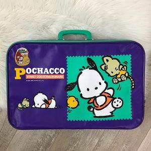 SANRIO Vintage Pochacco Dog Overnight Suitcase